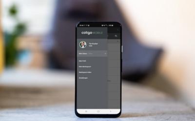 Coligo MOBILE für Android: Neue Funktionen in der Beta-Version